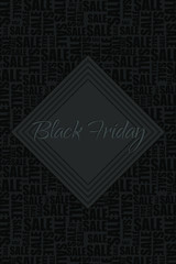 Black Friday Sale. Special discount. Vector illustration.