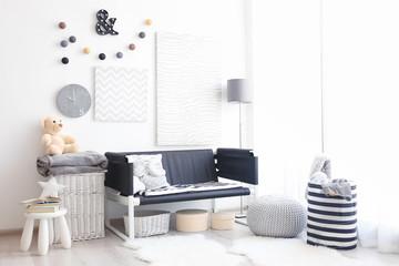 Modern design of child's room