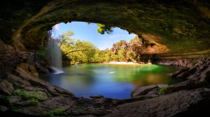 Foto auf Acrylglas Texas Hamilton Pool, Austin, Texas