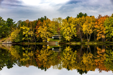 Fall Colours in Algonquin National Park, Ontario, Canada
