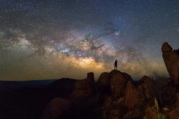 Milky way at Big Bend National Park