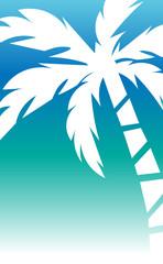 Palm Print. Vector illustration