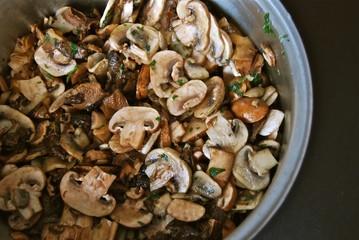 Pot of Mushrooms