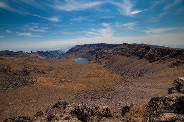 Wildhorse Lake from the Summit of Steens Mountain
