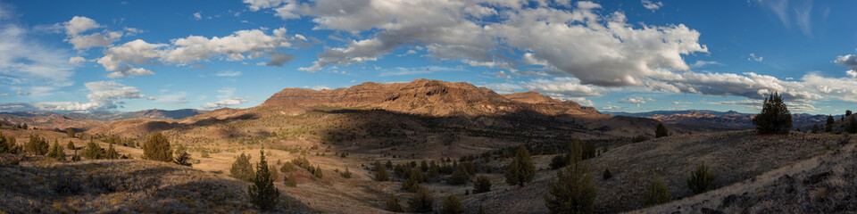 Sutton Mountain Fall Panorama - BLM Wilderness Study Area