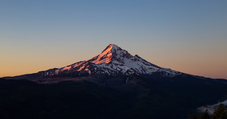 Perfect Dawn on Mt. Hood