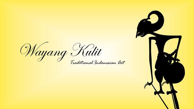 Arjuna - Wayang Kulit Indonesian Traditional Art