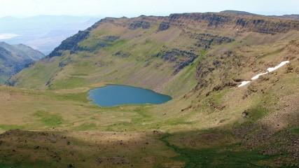 Secret mountain lake Wildhorse Lake Summit Steens Mountain Near Malheur Wildlife Refuge 26