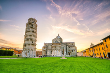 Pisa Cathedral and the Leaning Tower Wall mural