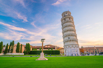 The Leaning Tower in Pisa Wall mural