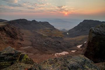 Sunrise on the Summit of Steens Mountain