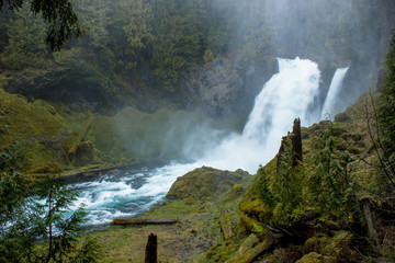 Shallie Falls on the McKenzie River