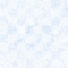 雪 結晶 背景 素材