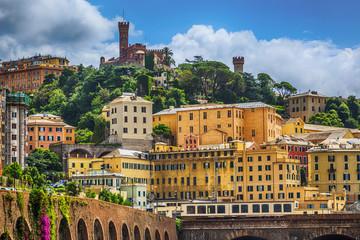 Castello d'Albertis castle in Genoa