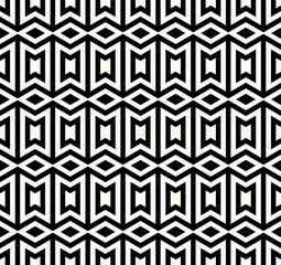 Geometric seamless pattern. Simple regular background. Trendy hipster style with american indian motifs . Aztec background. Textile print with navajo tribal ornament. Native american art.