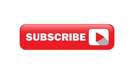 Shiny Subscribe Button Vector