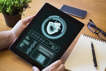 desktop tablet health app