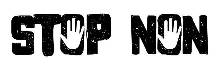 Stop / Non