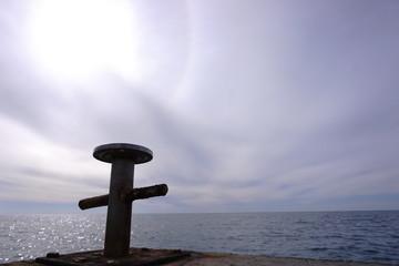 Minimalistic seabackground