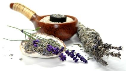 Räucherwerk, Räucherbündel, Lavendel