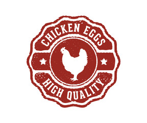 chicken eggs high quality sign label stamp