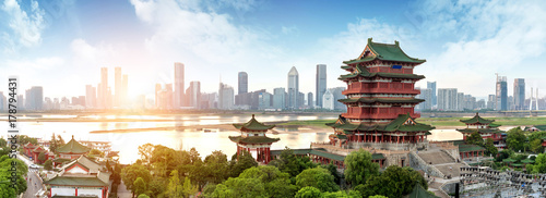 Wall mural Chinese Classical Architecture
