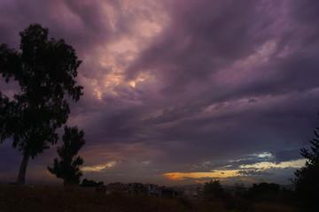 Amazing sky background