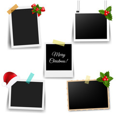 Photo Frame With Xmas Decor Collection