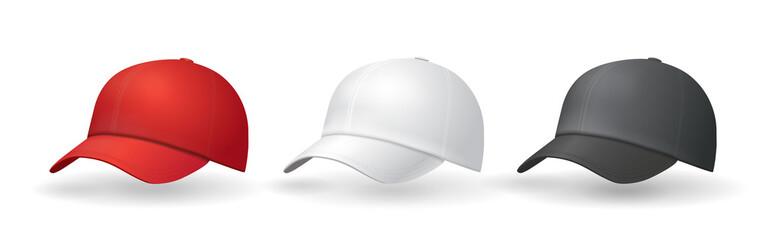 Baseball hats templates Uniform cap