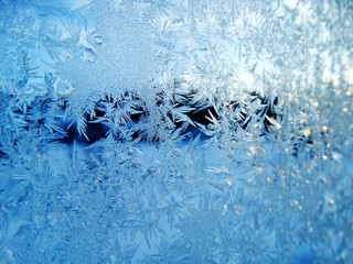 snowflakes pattern as winter texture background