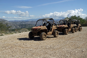rotten buggies for a cruise in croatia