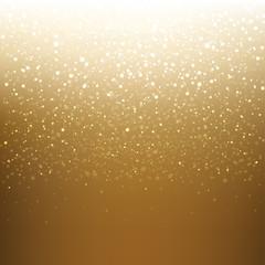 Golden Xmas Banner