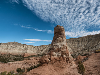 Chimney rock in Kodachrome State Park, Utah