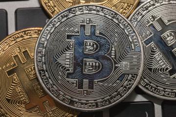 bitcoin on the keyboard