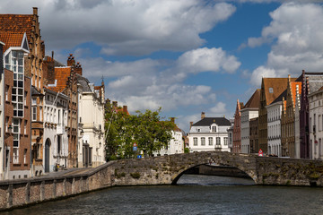 Old town of Bruges, Belgium