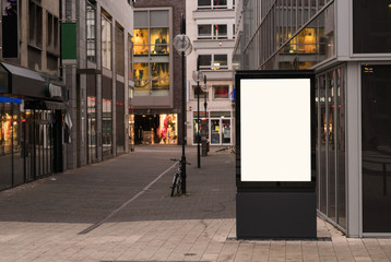 Digital outdoor advertising Fotomurales