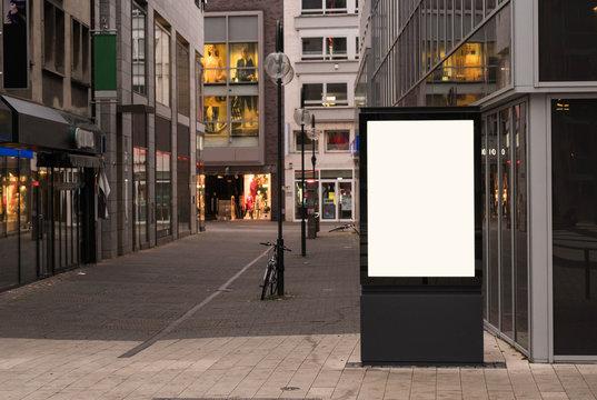 Digital outdoor advertising