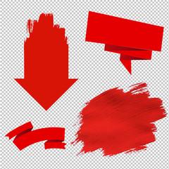 Red Sale Symbol