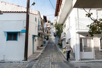 Gasse in Pythagorea Samos