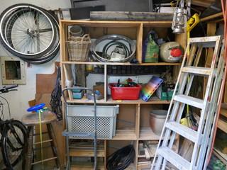 Messy storeroom