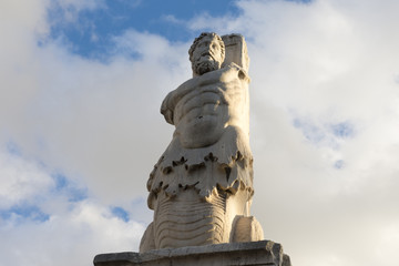 marble statue of a giant