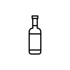 Premium alcohol icon or logo in line style.
