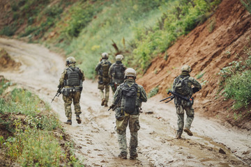 rangers during the military operation. military concept