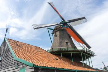 Windmill at Zaanse Schans, Netherlands
