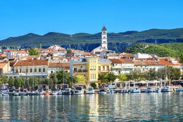 Resort town Crikvenica. Istria, Croatia