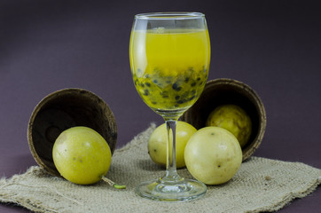 cool passion fruit drink for healthy care