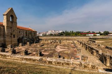 Monastery of Santa Clara-a-Velha in Coimbra, Portugal.