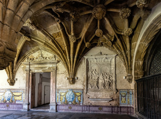 Monastery of Santa Cruz in Coimbra, Portugal.