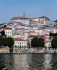 View of Coimbra, Portugal.