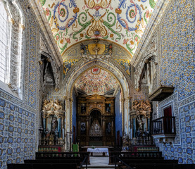 Saint Michael's Chapel of the University of Coimbra, Portugal.